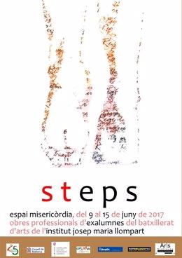 Cartel exposición Steps