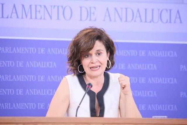 La portavoz adjunta de Podemos en el Parlamento andaluz, Esperanza Gómez