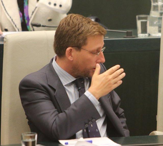 José Luis Martínez-Almeida, nuevo portavoz del PP en el Ayuntamiento de Madrid