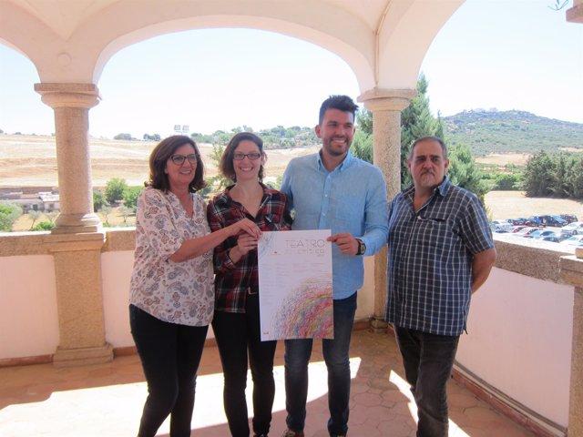 Presentación de Teatro Crítico de la Diputación de Cáceres
