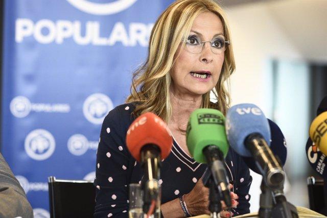 Secretaria del PP canario y presidenta PP de Gran Canaria, Mª Australia Navarro