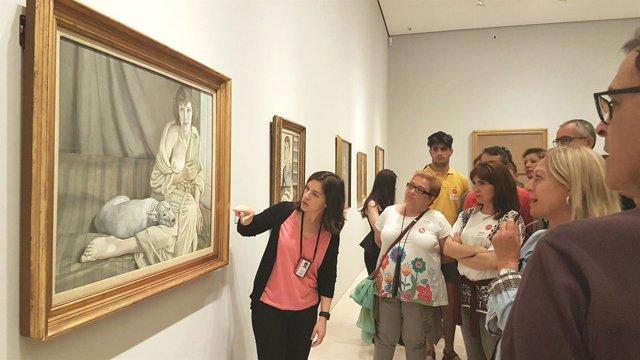 Museo Picasso Bacon Freud y la Escuela de Londres exposición turistas arte