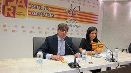 """El presidente del PAR subraya que el músculo político del partido """"se está tonificando"""""""