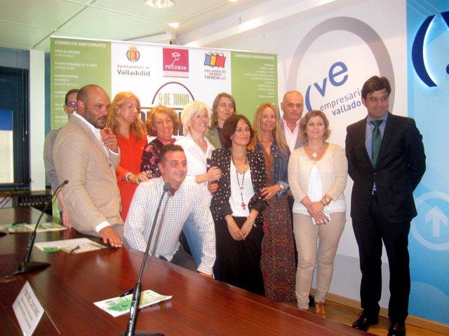 Presentación en la CVE de la 'Valladolid Shopping Night'.