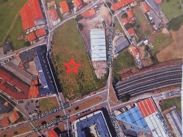 Localización de la parcela