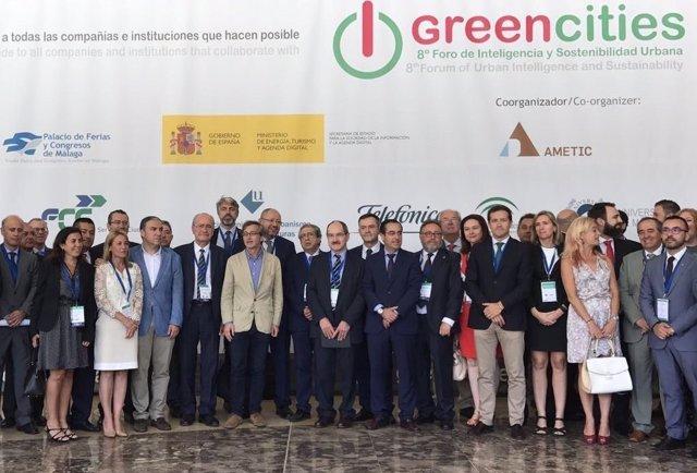 Inauguración del Foro Greencities en Málaga