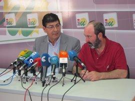 Jiménez (IU) se remite a la postura del regional que confía en que Valderas rechace la propuesta de Susana Díaz