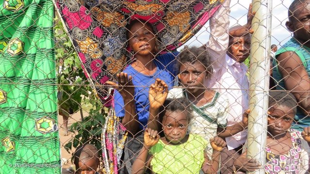 Refugiados congoleños procedentes de Kasai llegan a Angola