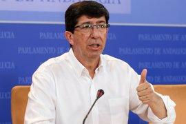 """Marín (Cs) apoya que Valderas """"cobre un sueldo"""" si ejerce como Comisionado de la Memoria Histórica"""