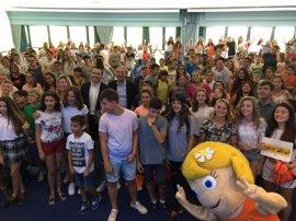 Unos 200 alumnos participan en la entrega de premios de la 12 edición del concurso escolar 'Consumópolis'