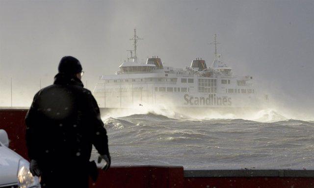 Un ferry de la compañía Scandlines
