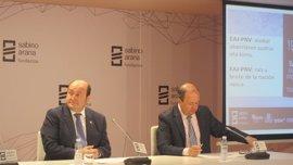 """PNV reitera su apuesta por la vía del acuerdo """"lo más amplio posible"""" sobre nuevo estatus en el Parlamento"""