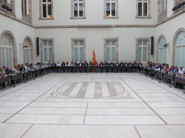 Reunión del Pacte Nacional pel Referèndum