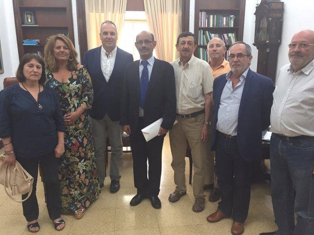 Diputación y pueblo saharaui