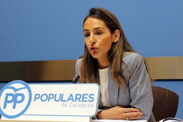 La concejal el PP María Navarro