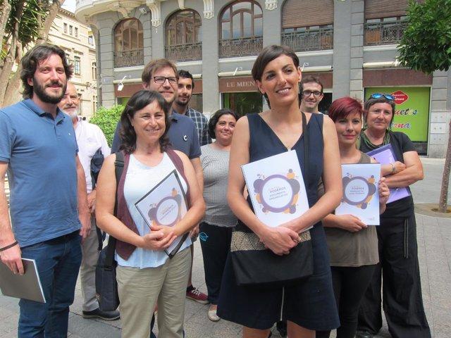Candidatura Juntas Podemos con Lola Sánchez