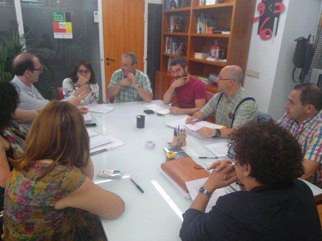 Reunión en la Concejalía de Servicios Sociales de Valladolid