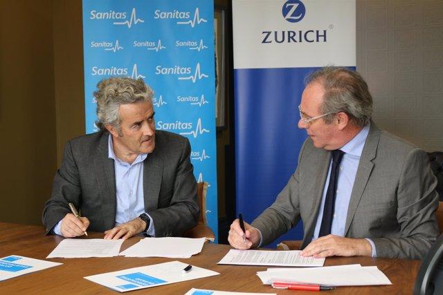 Acuerdo  Sanitas y Zurich