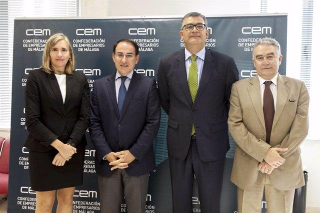 Presidente CEA CEM Gonzalez de Lara y bankia