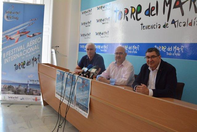 Torre del mar air show segundo festival