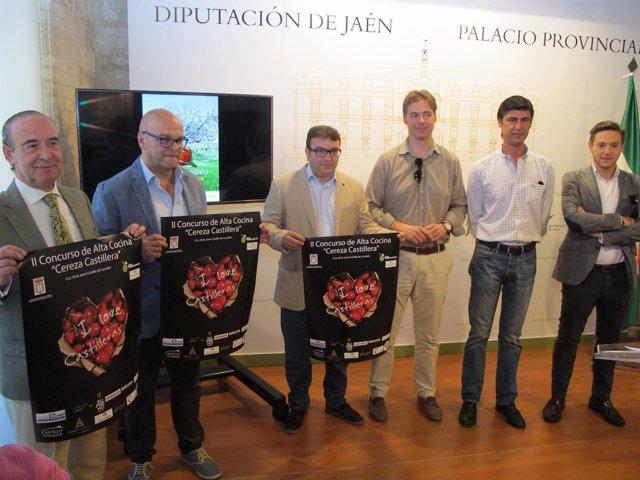Presentación de la XXXIV Fiesta de la Cereza de Castillo de Locubín.