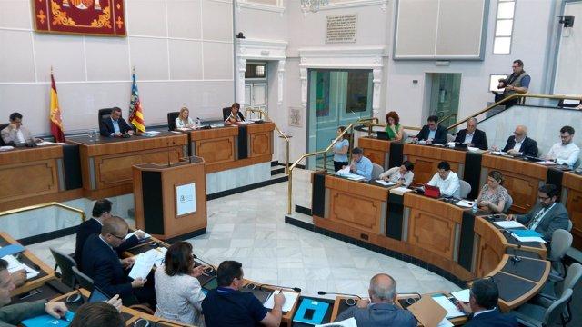 Pleno de la Diputación este miércoles