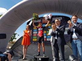 Porte gana la contrarreloj de la Dauphiné y Valverde supera a Contador y Froome