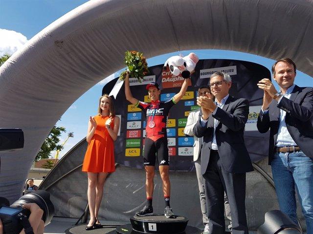 Richi Porte gana en el Critérium Dauphiné Liberé