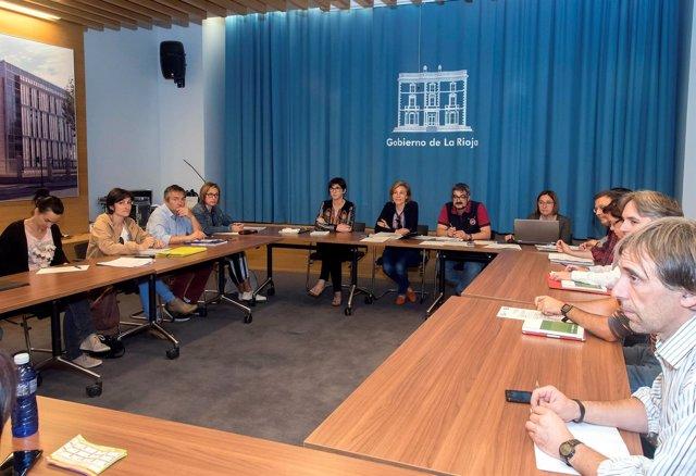 Mesa General Negociación empleados públicos y Comité Empresa 01