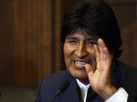 """Evo Morales clama en Bruselas contra """"muros físicos, legales y mentales"""" y pide puentes para la migración"""