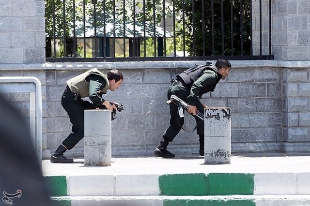 Atentado en Teherán