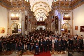 La XIX Gala del Deporte UCAM reúne a más de 500 deportistas en el Templo del Monasterio de Los Jerónimos