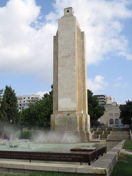 Imagen del monumento de Sa Feixina