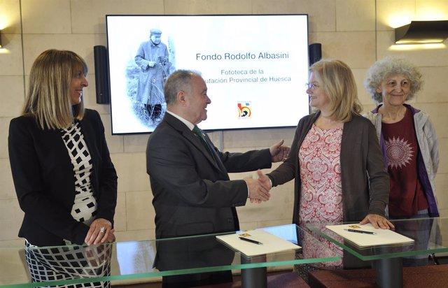 La Fototeca de la DPH custodiará el legado de Rodolfo Albasini