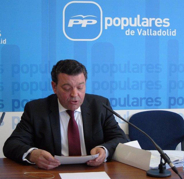 El propuesto secretario general del PP de Valladolid, Luis Miguel González Gago