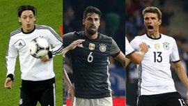 Özil, Khedira y Müller se caen de la convocatoria alemana para la Copa Confederaciones