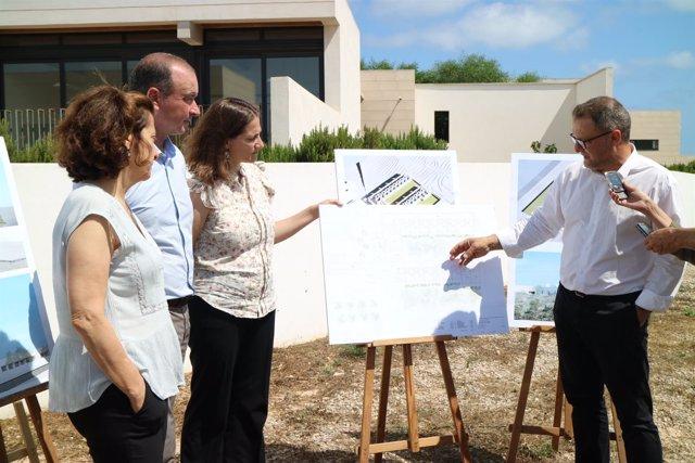 Presentación del proyecto de la nueva residencia de Formentera