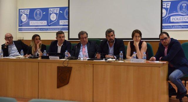 Grupos Políticos mesa debate con el CSD