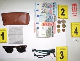 Detenida por robar en el vestuario del polideportivo municipal de Estella