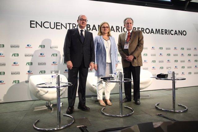 José María Roldán, Irene Garrido y José Manuel López Valdés