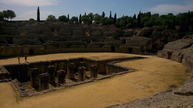 Anfiteatro romano de Itálica.