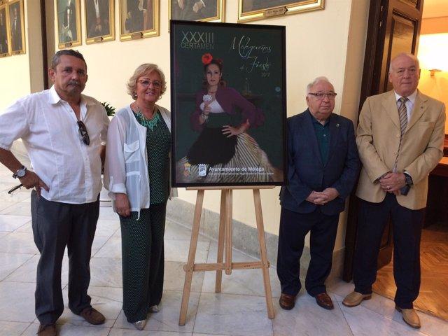 El Ayuntamiento De Málaga Informa: El Certamen De Malagueñas De Fiesta 2017 Pres