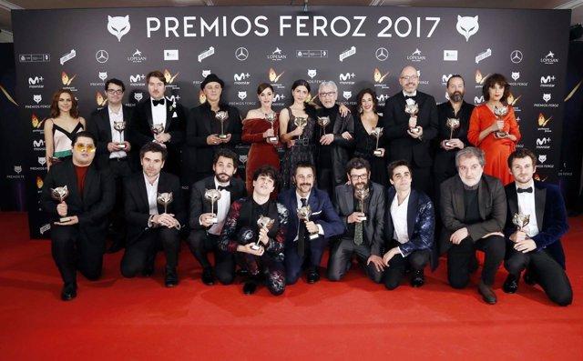 Los Feroz celebraron este año su cuarta edición como la antesala de los Goya