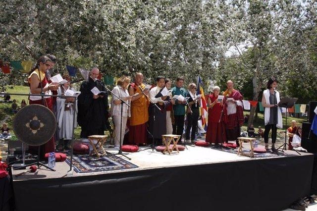 Celebración del Vesak en Barcelona