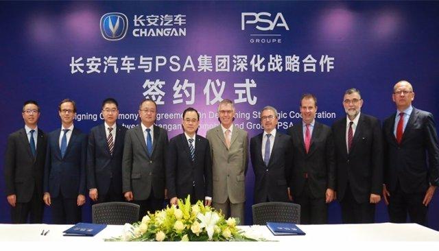 Cooperación entre PSA y ChangAn