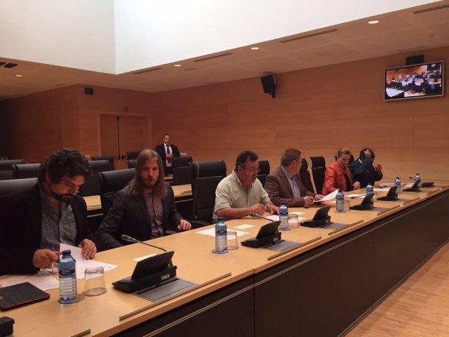 Valladolid. Primera reunión Comisión Cajas