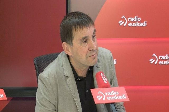 El Candidato A Coordinador General De EH Bildu, Arnaldo Otegi