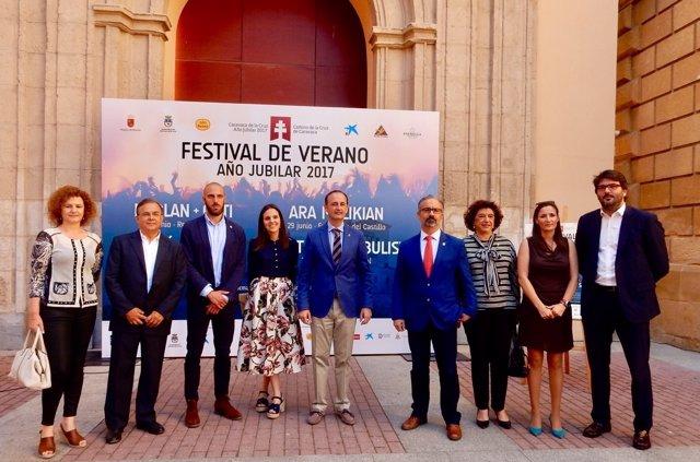 Presentación del 'Festival de Verano Año Jubilar 2017'