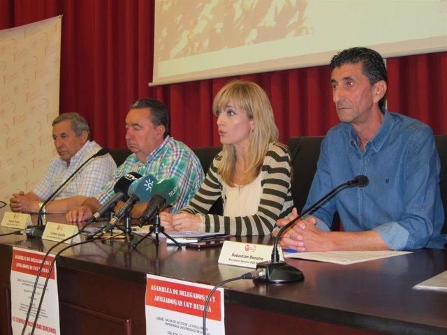 La secretaria general de UGT-A, Carmen Castilla.