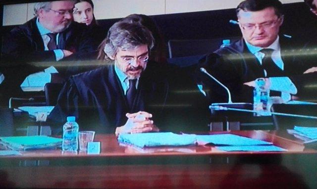 El abogado del exdirectivo de Ferrovial Pedro Buenaventura, Cristóbal Martell